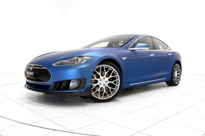 Brabus Tesla Model S front