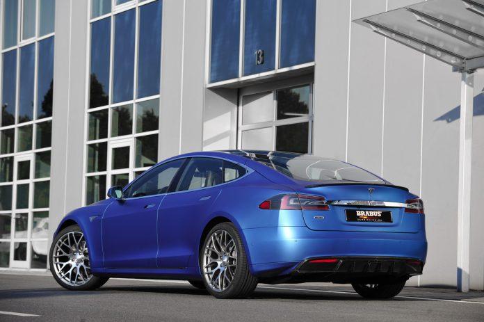 Brabus Tesla Model S rear