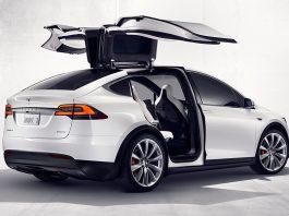 Tesla Model X leak