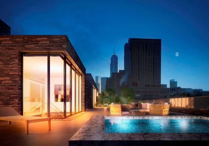 Tribeca penthouse for sale rooftop