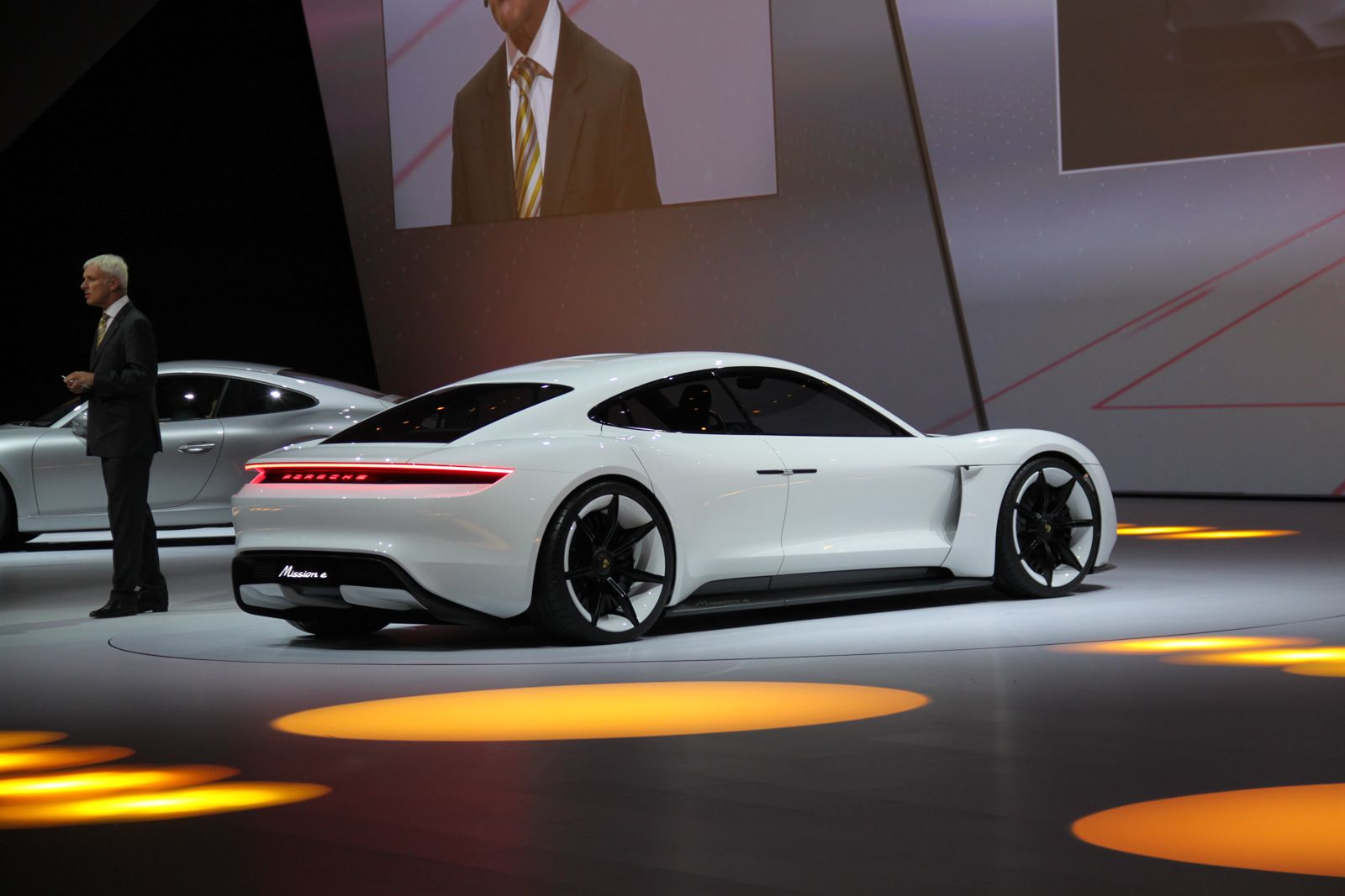 For more about the Porsche Mission-E Concept , see our previous post ...