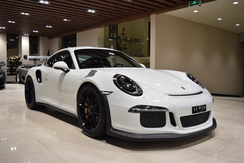 saudi dealer lists second 2016 porsche 911 gt3 rs for sale gtspirit. Black Bedroom Furniture Sets. Home Design Ideas