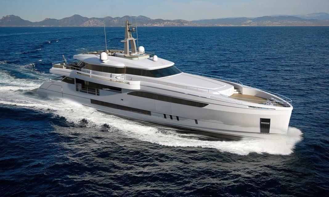 Wider 150 superyacht