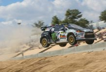Petter Solberg Citroen DS3 Rallycross