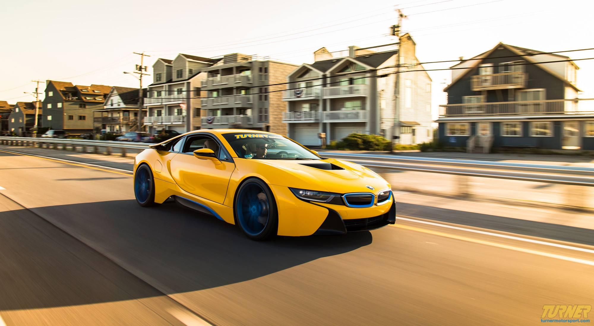 Custom Yellow Bmw I8 By Turner Motorsport For Sale Gtspirit