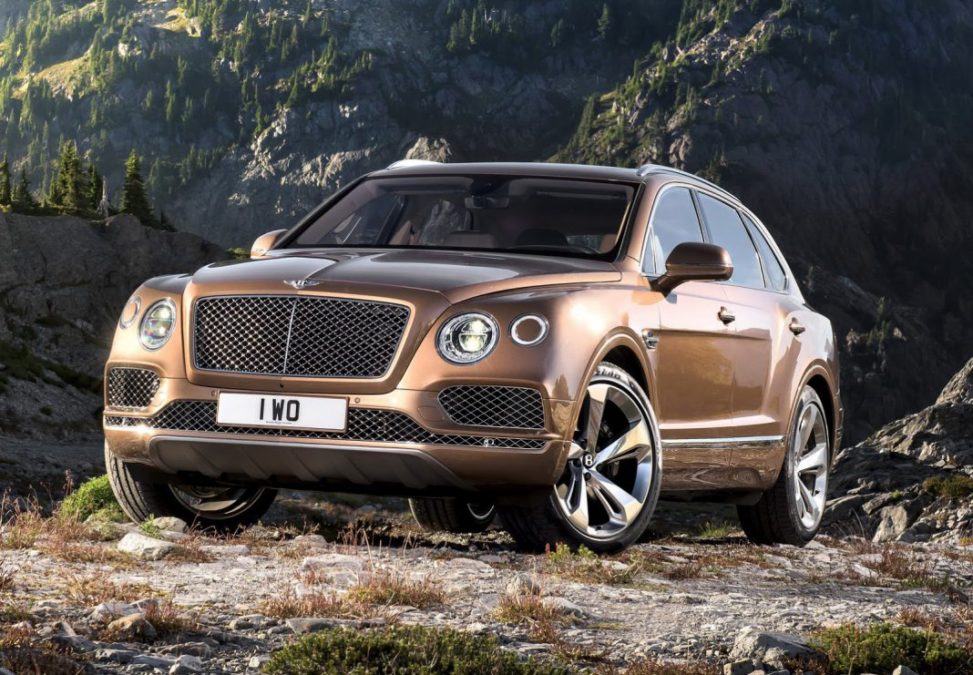 Bentley Bentayga priced in the U.S.