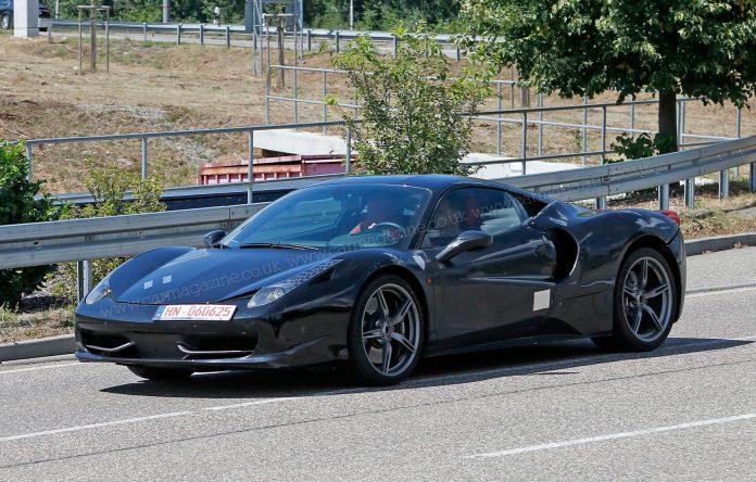 Ferrari hints at new V6 model