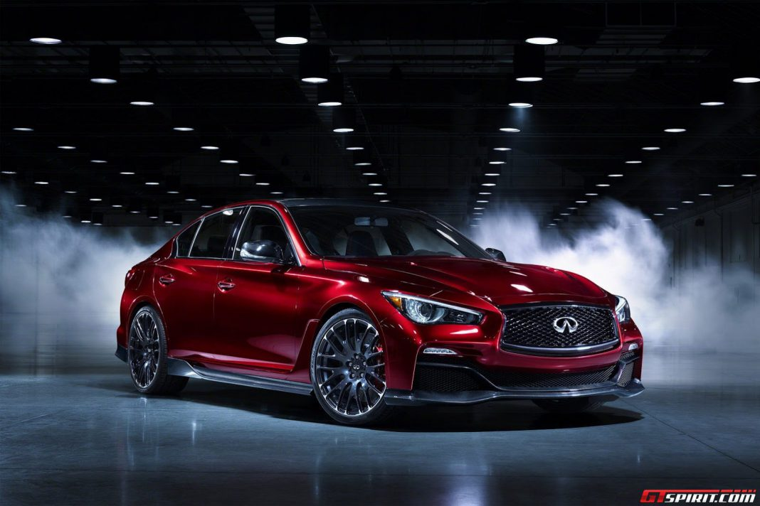 Infiniti Q50 Eau Rouge rulled out