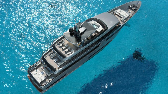 Riva superyacht top