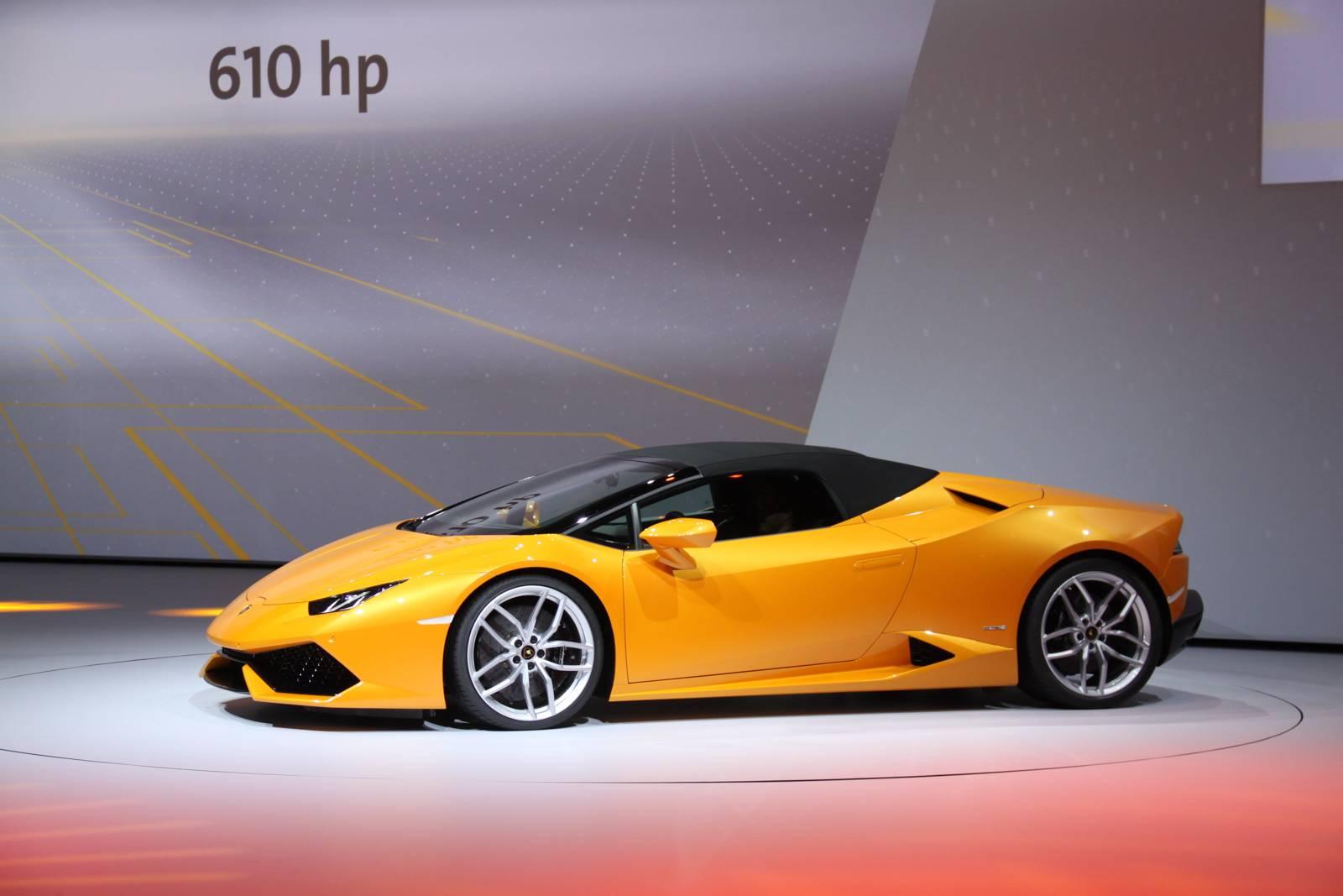 Lamborghini At The Iaa Frankfurt Motor Show 2015 Gtspirit