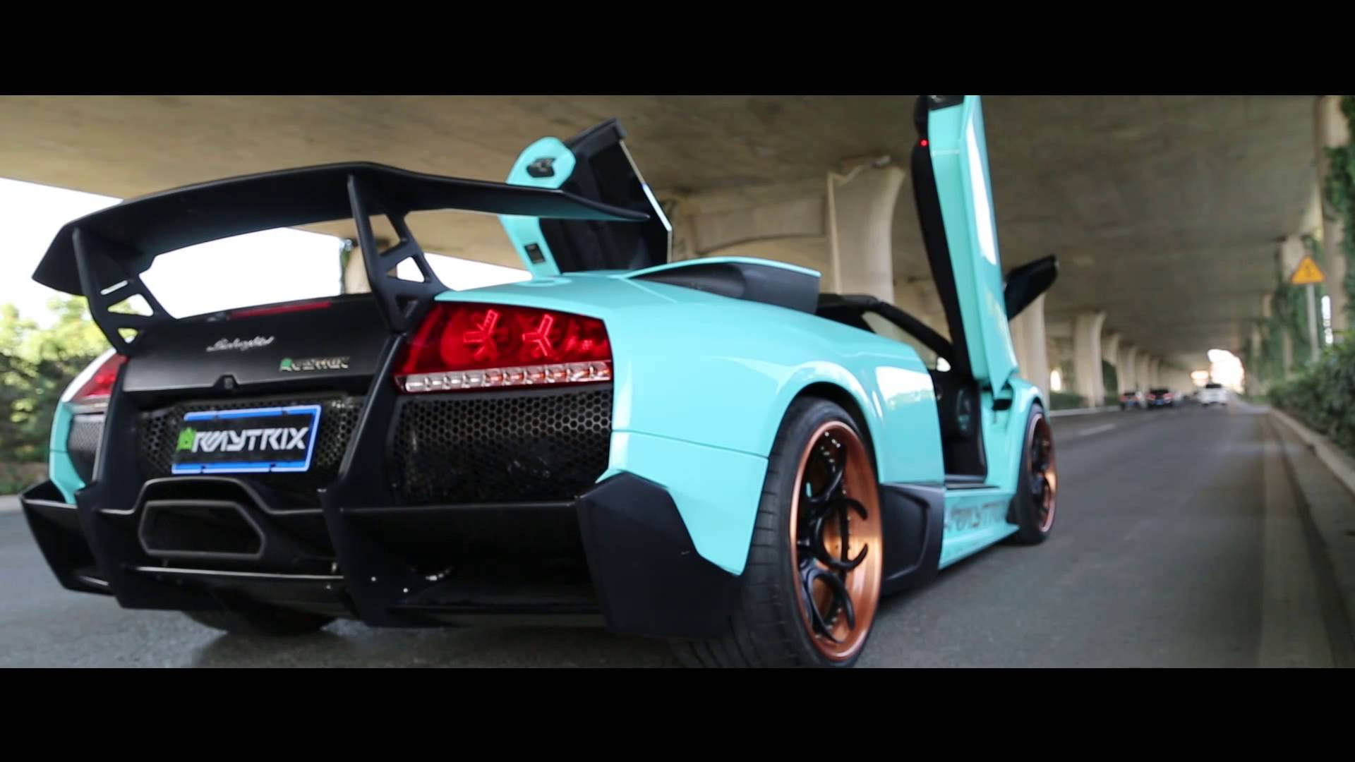 Video Lamborghini Murcielago Howls With Armytrix Exhaust Gtspirit