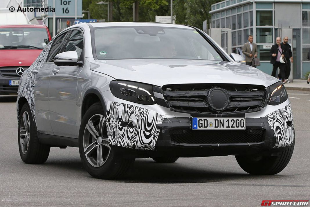 Mercedes-Benz GLC Coupe debuting next year