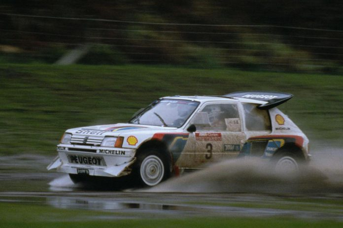 peugeot-205-t16 group b rally