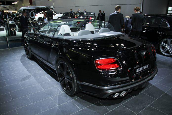 Startec Bentley Continental GTC rear