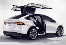 Tesla Model X 413 km range