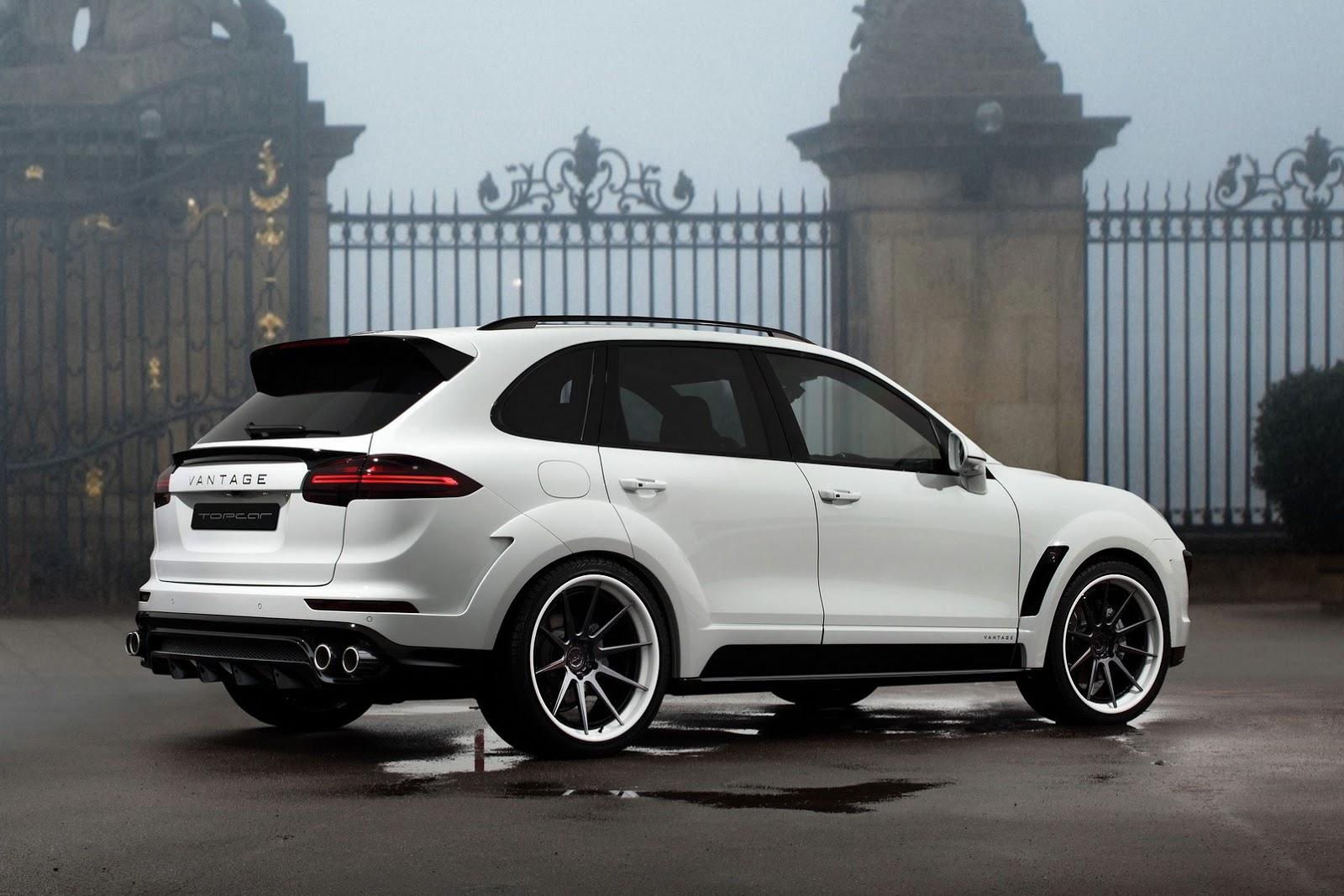 Topcar Reveals White 2015 Porsche Cayenne Gtspirit