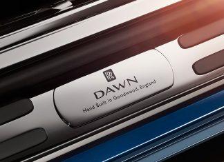 Rolls-Royce Dawn teased