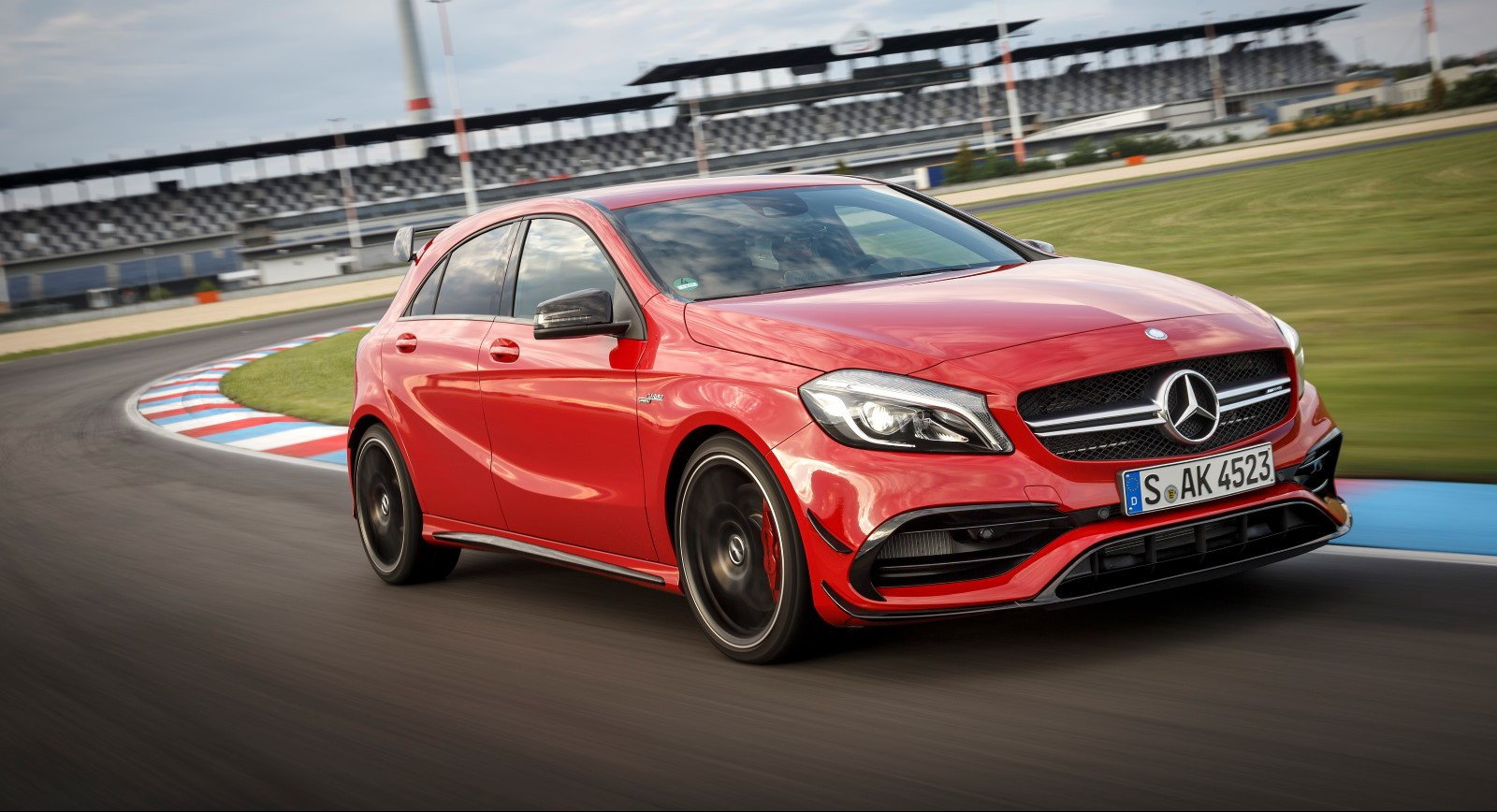 2016 mercedes amg a45 4matic review gtspirit for Mercedes benz a45 amg