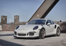 2016 Porsche 911 GT3 RS HRE wheels