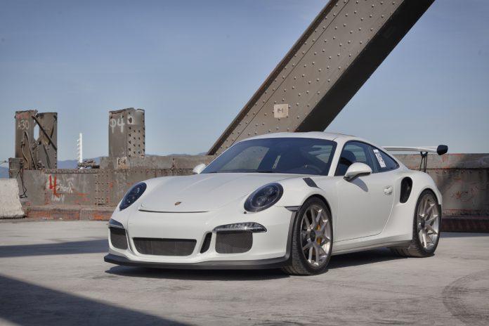 2016 Porsche 911 GT3 RS HRE wheels