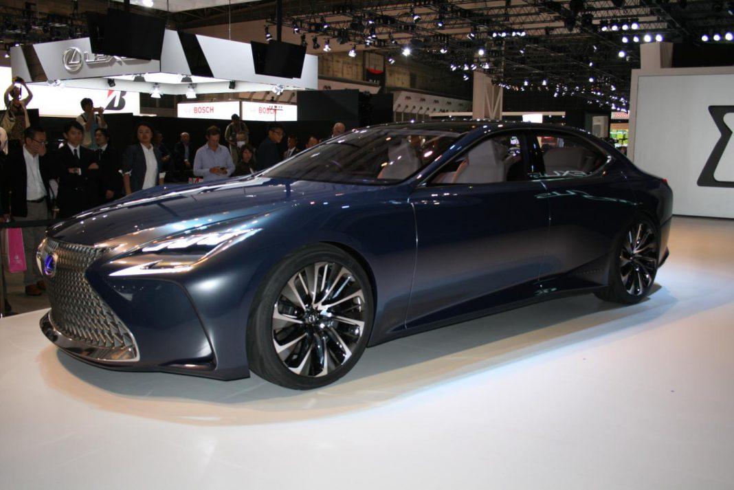 Lexus LF-LC front