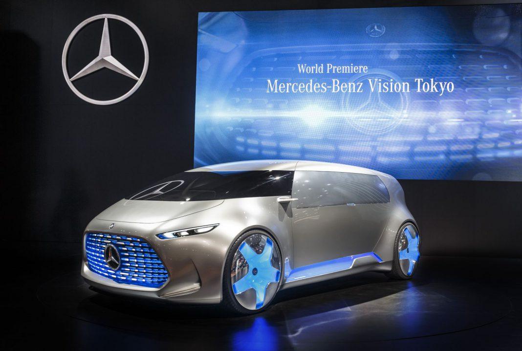 Mercedes-Benz Vision Tokyo front