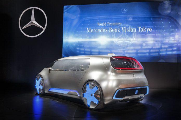 Mercedes-Benz Vision Tokyo rear