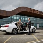 Uber users get to ride in the BMW 7-Series