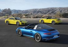 2016 Porsche 911 Carrera 4 Targa group