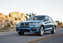 BMW X4 M40i front