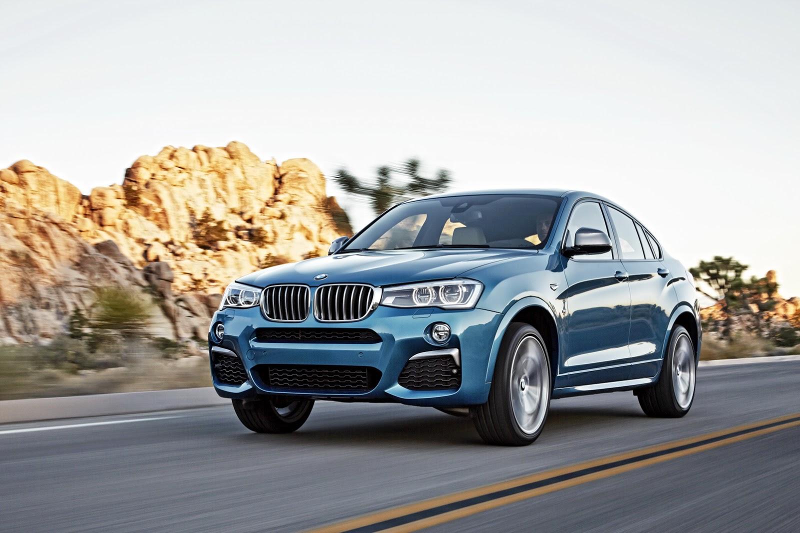 BMW X4 M40i front