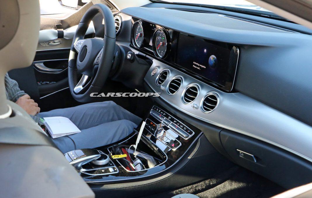 Next-gen Mercedes-Benz E-Class interior