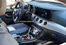 Next-gen Mercedes-Benz E-Class interior