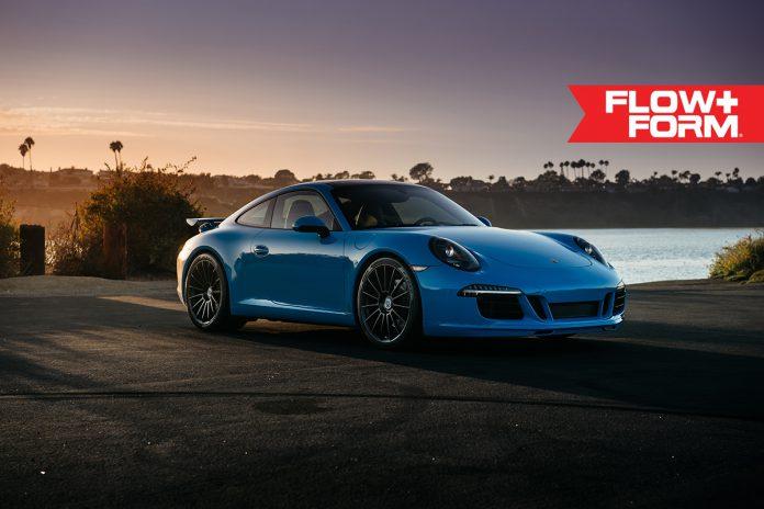 Porsche 911 Carrera S HRE Wheels front