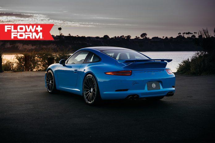 Porsche 911 Carrera S HRE Wheels rear