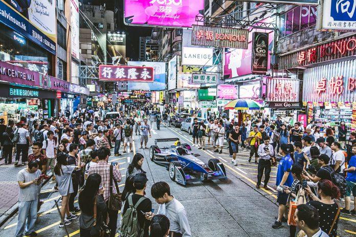Formula E Hong Kong city
