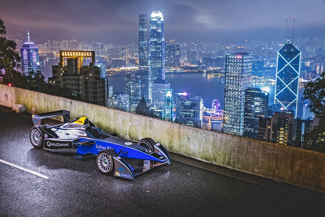 Formula E Hong Kong skyline