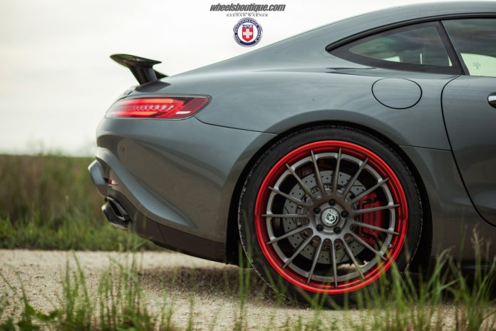 Mercedes-AMG GT HRE Wheels side