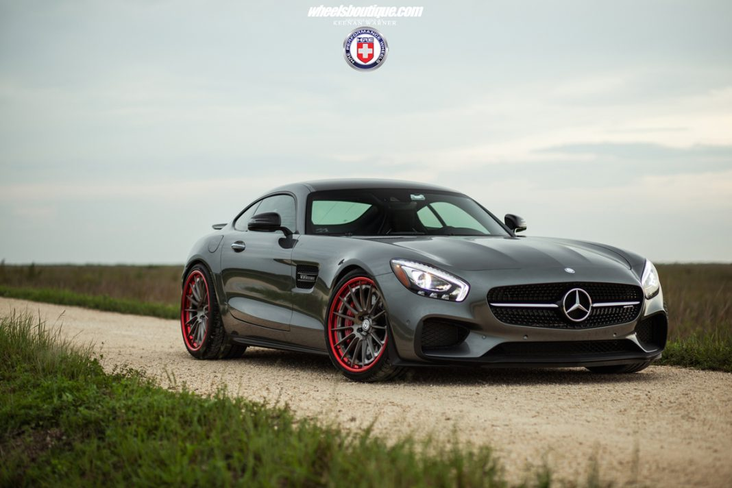 Mercedes-AMG GT HRE Wheels front
