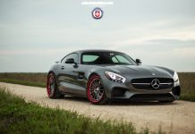 Mercedes-AMG GT HRE Wheels front