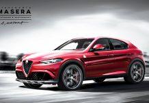 Alfa Romeo SUV QV front