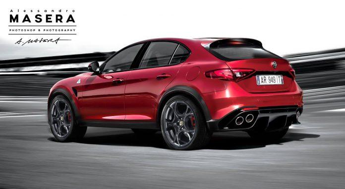 Alfa Romeo SUV QV  rear