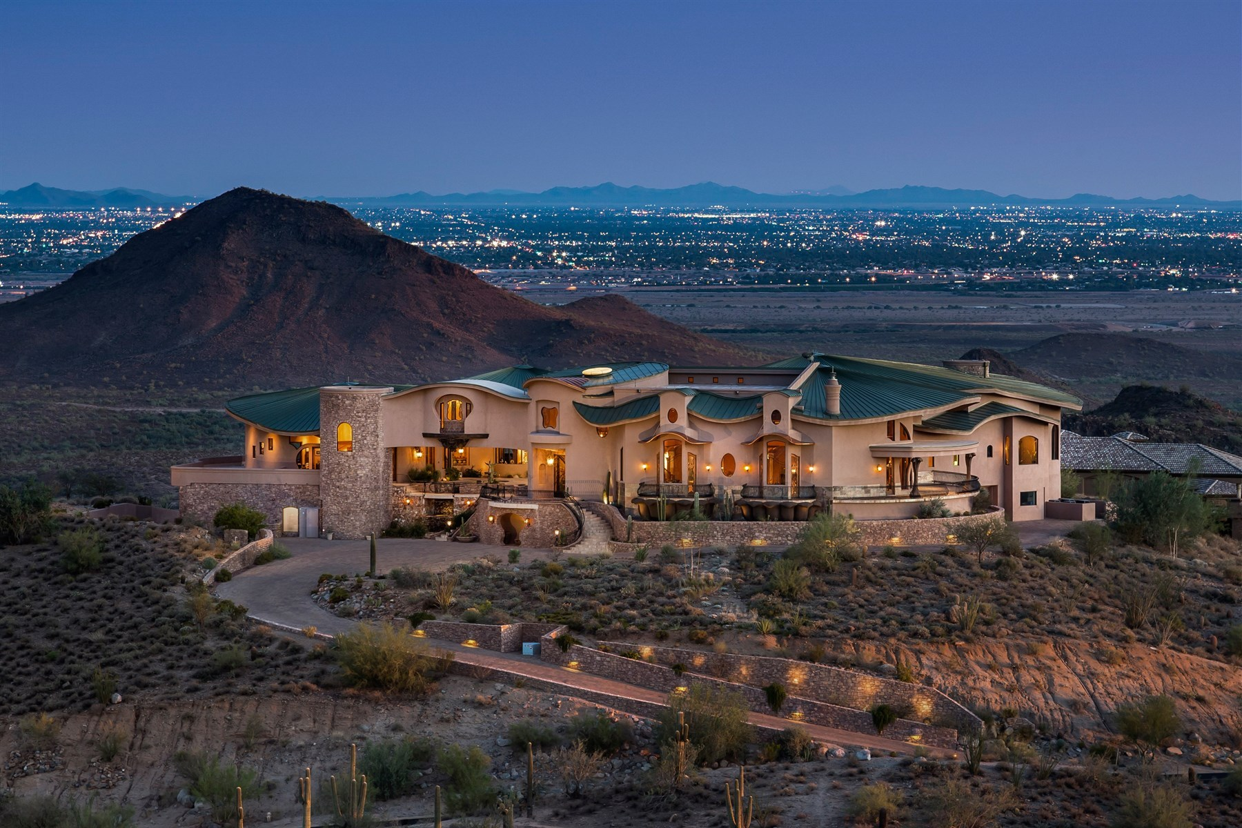 real estate villas for sale amazing desert estate for sale in arizona