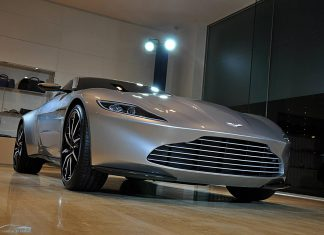 Aston Martin DB10 Spectre James Bond
