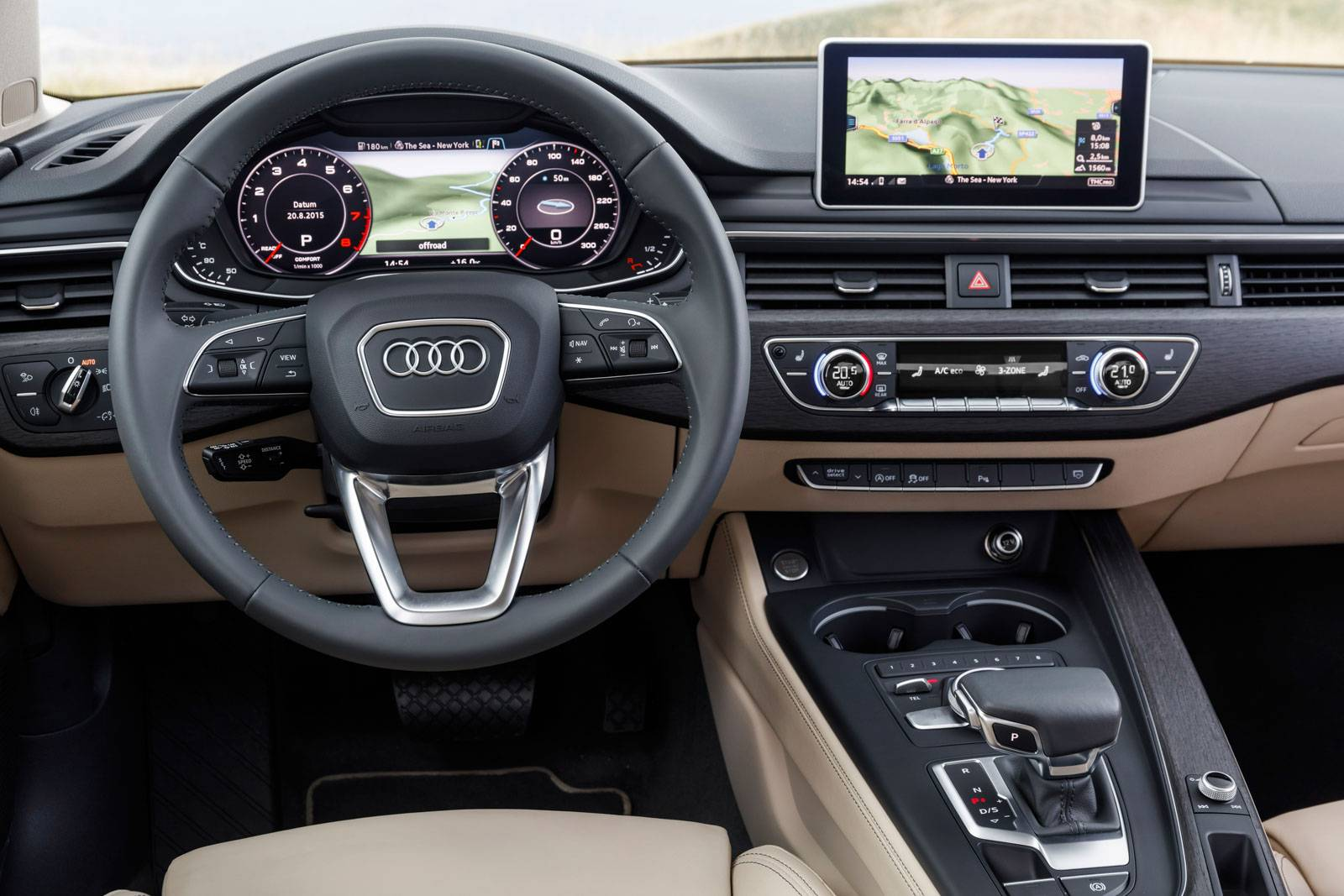 2016 audi a4 review gtspirit. Black Bedroom Furniture Sets. Home Design Ideas
