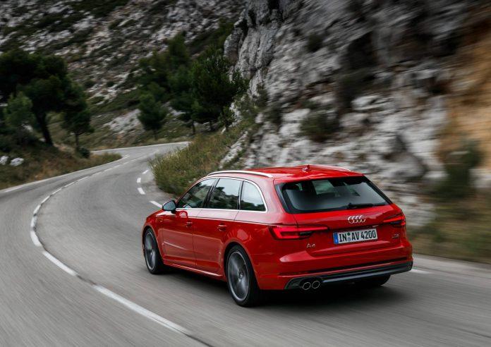 Tango Red Audi A4 Avant