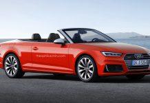 Audi A5 Cabriolet rendered