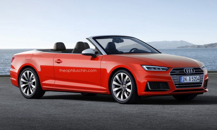 Audi A5 Cabriolet rendered
