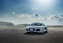 Audi R8 LM revealed in Canada front