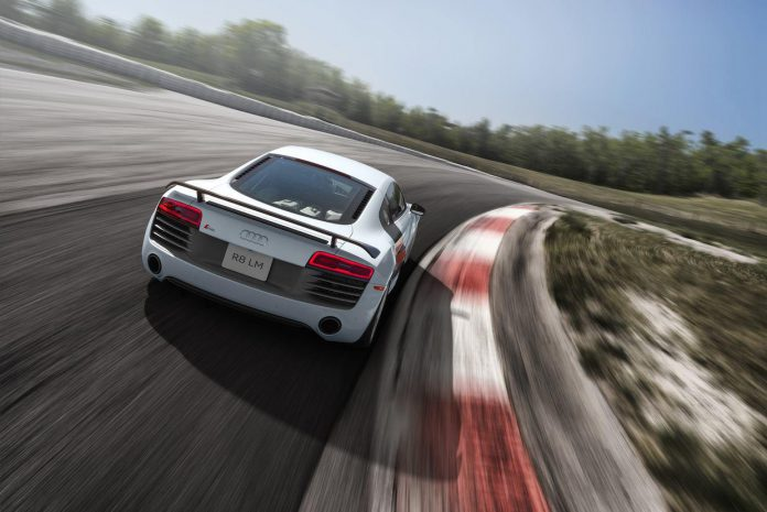 Audi R8 LM revealed in Canada rear